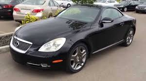 lexus sedan 2007 pre owned black 2007 lexus sc 430 2dr coupe hardtop convertible