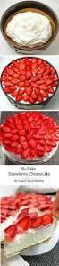 ina garten balsamic strawberries no bake strawberry cheesecake recipe is a perfect homemade dessert