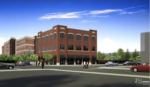 three story building three story retail office building proposed for chouteau and