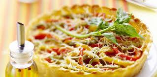 cuisine saison tarte croustillante aux légumes de saison facile et pas cher
