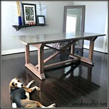 diy farmhouse table for 100 dining room tables easy to make