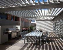Pergola Coverings For Rain by Louvered Pergola Covers Shade And Shutter Systems Inc New