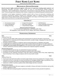 Experience Resume For Mechanical Engineer Download Design Mechanical Engineer Sample Resume