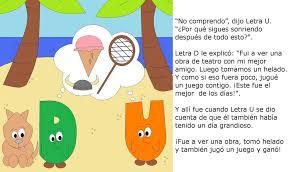 the happy letter d en español freechildrenstories
