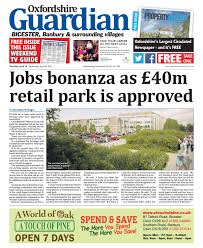 20 april 2017 oxfordshire guardian bicester by taylor newspapers