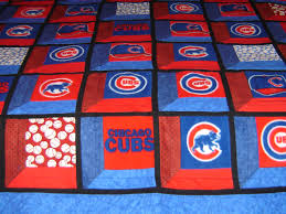 Quilted Rugs Chicago Cubs 3d Quilt Quilts Pinterest 3d Quilts