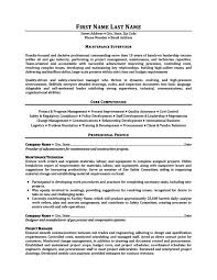 supervisor resume templates maintenance supervisor resume template premium resume sles