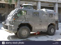 police armored vehicles rio de janeiro brazil 9th feb 2017 police officers used