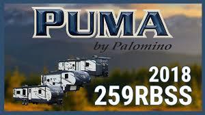Puma 5th Wheel Floor Plans by New 2018 Palomino Puma 259rbss 8813