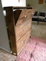 Antique Storage Cabinet Wood Shoe Storage Cabinet Foter