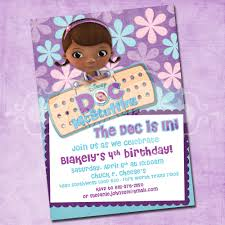 doc mcstuffins birthday party doc mcstuffins birthday party invitations cimvitation