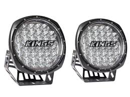 round led driving lights adventure kings illuminator 9 round led driving lights pair