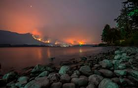 Wildfires Burning In Washington State by Ash Rains Down On Oregon Cities As Smoke From Wildfires Chokes