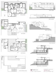 Casita House Plans Amazing Farnsworth House Floor Plan 5 Tugendhat House Drawings
