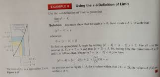 calculus need help understanding logic behind limit proof based