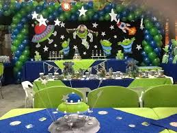 Buzz Lightyear Centerpieces by Buzz Lightyear Birthday