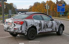 maserati price 2016 maserati suv prototype spied up close autoevolution