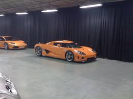 koenigsegg pagani 051 ccx orange black u0026 orange rhd