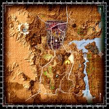 Fallout New Vegas Map With All Locations by Shiloh Ds Colored Map And Icons Fallout New Vegas Ui Mods Images