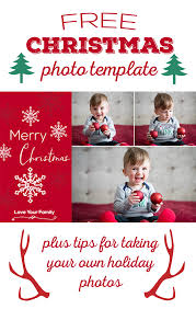 free christmas photo template the best ideas for kids
