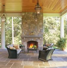 boston outside fireplace designs patio traditional with raised