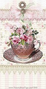 roses teacups cottage roses teacups set 2 imagens usada para découpage i like
