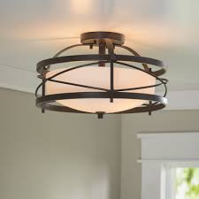 Darby Home Furniture Darby Home Co Farrier 2 Light Semi Flush Mount U0026 Reviews Wayfair