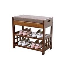 Shoe Storage With Seat Or Bench - 64 sobuy bamboo shoe rack storage bench with seat cushion