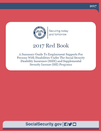 social security online the red book a guide to work incentives