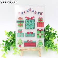 wholesale ypp craft 1 sheet transparent clear silicone stamps for