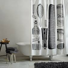Fornasetti Curtains More Modern Shower Curtain Finds For A Stylish Powder Room