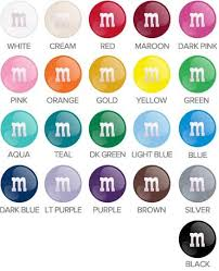 m ms individual colors 5lb