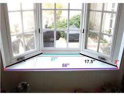 how to measure for a bay window seat cushion d i y pinterest bay windows