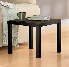 Espresso Side Table Amazon Com Dhp Parsons Modern End Table Multi Use And Toolless