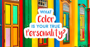 what color is what color is your true personality quiz quizony com