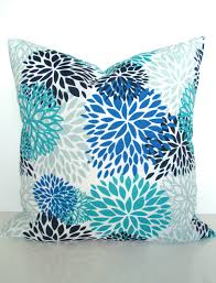 royal blue pillows blue outdoor pillow covers turquoise