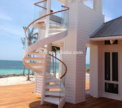 stainless steel glass spiral staircase stainless steel glass