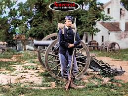 1861 soldier civil war color photos
