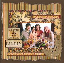 253 best scrapbook layouts fall thanksgiving images on