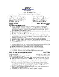Hr Generalist Sample Resume by Resume Of Experienced Hr Recruiter Corpedo Com