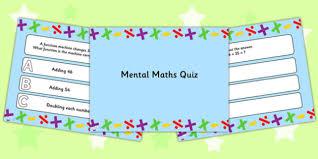 maths powerpoint quiz mental maths powerpoint quiz