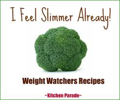 kitchen parade how to lose weight with weight watchers