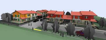 residential complex 3d render revit autocad architecture my