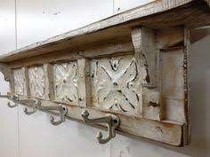 antique wall mounted coat rack vintage industrial style wrought