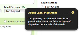 Top Right Wufoo Blog When To Use Top Right And Left Aligned Field Labels
