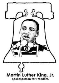 martin luther king jr coloring page from usa printables free us