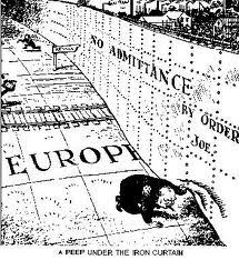 Winston Churchill Iron Curtain Speech Meaning Bifsigcsehistorygrade10 Origins Of The Cold War The Iron