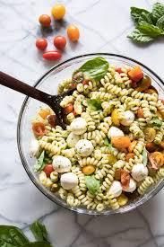 pasta salad pesto pesto pasta salad the recipe critic