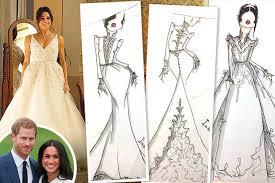 wedding dress daily meghan markle s wedding dress prince harry s fiancee s gown