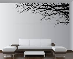 large vinyl decor sticker wall mural art tree top branches living